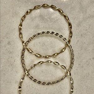 💥vintage silver bracelets